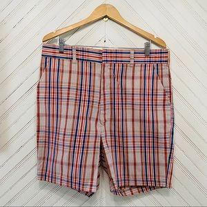 Vintage 70s Plaid Colorful Shorts